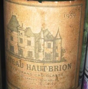 1959 haut brion 296x300 Learn Everything about the Graves Classification of 1959 Bordeaux Wine
