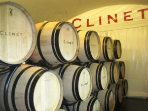 Clinet Barrels 300x225 Chateau Clinet Pomerol Bordeaux Wine, Complete Guide