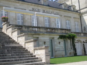Ducru Fron t sign 300x225 Chateau Ducru Beaucaillou Bruno Borie on Fire in Bordeaux