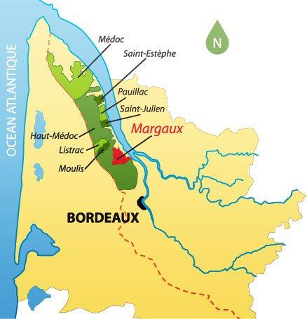 Maps Of Bordeaux Wine Producers Appellations Chateaux