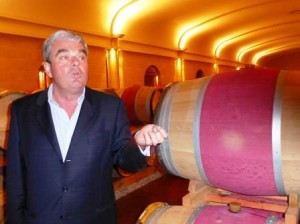 Olivier Bernard Barrel Room 300x224 Domaine de Chevalier Pessac Leognan Bordeaux Wine, Complete Guide