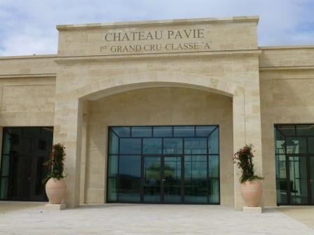 Pavie Cellars Entrance Chateau Pavie St. Emilion Bordeaux Wine, Complete Guide