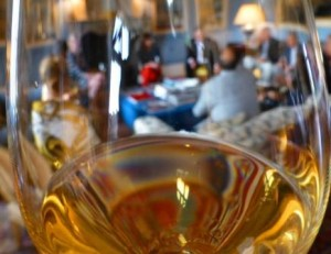 Sauternes in a glass 300x231 Learn about Sauternes/Barsac Sweet Bordeaux, Best Wines, Top Vineyards