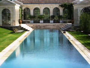 du tertre pool 300x225 Which Bordeaux wine choice? Chateau Margaux,or Mouton Rothschild?