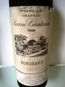 28 Brane Cantenac 225x300 7 Blind Men tastes 7 decades of Bordeaux wine from the 20s 80s!