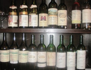 7 blind math all bottles 300x229 7 Blind men taste La Turque, Chateau Margaux, Lafleur, Pavie and more!