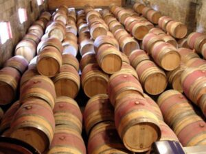 beaumontbarrel1 300x225 Chateau Beausejour Montagne St. Emilion Bordeaux Wine Complete Guide
