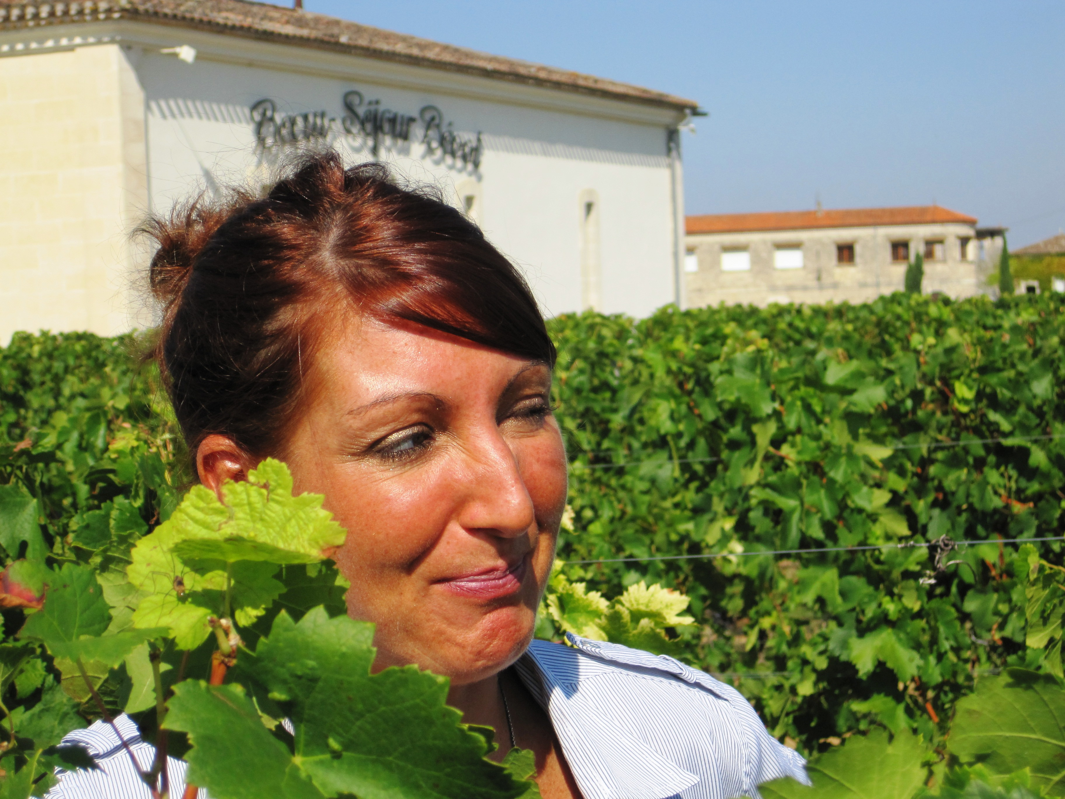 2010 Beau-Sejour Becot Harvest, Juliette Becot tries something new!