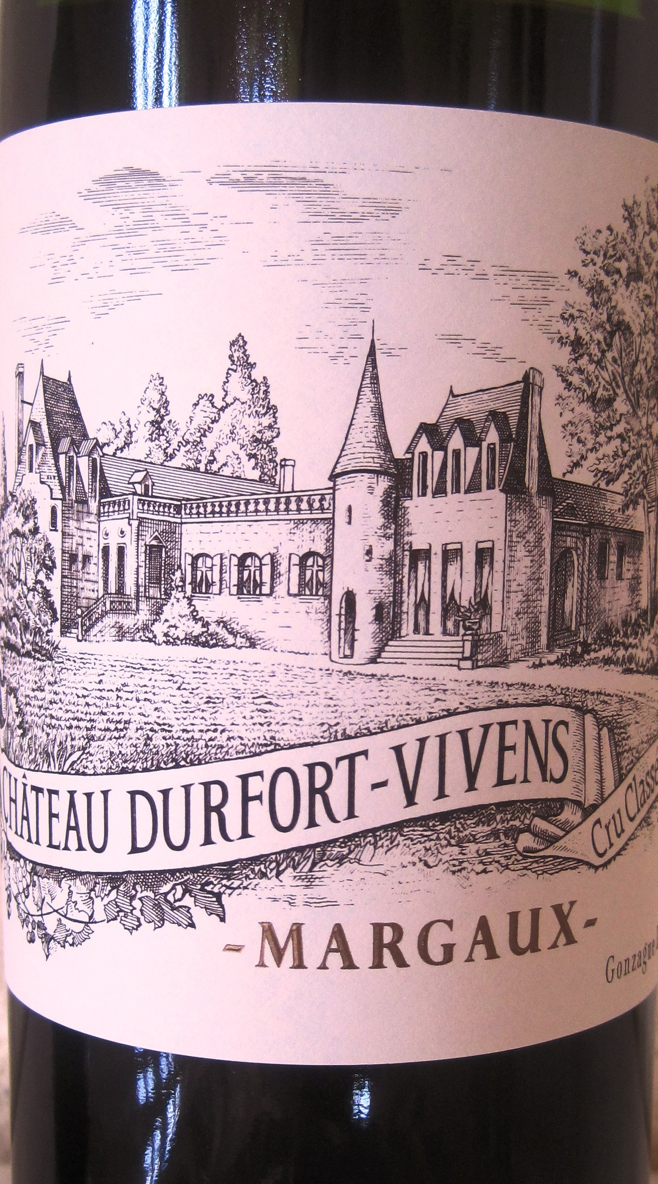 2010 Durfort Vivens and Gonzague Lurton in Margaux