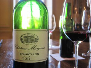 Margaux bottle 300x225 2008 Left Bank Bordeaux wine in bottle tasting notes