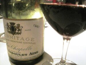 61 LA CHAPELLE 1 300x225 My list of The Ten Best Wines Tasted during the last Decade