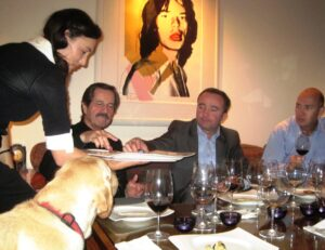 Haut Brion Dinner Main Pic1 300x231 Jean Philippe Delmas Haut Brion and other wines shared over dinner