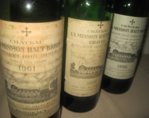 LMHB 61 300x237 La Mission Haut Brion Tasting 1961 1999 with Bipin Desai