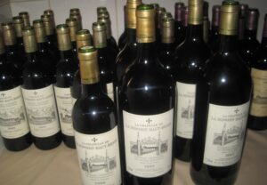 LMHB Bottles 2 300x208 La Mission Haut Brion Tasting 1961 1999 with Bipin Desai