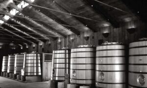 Harlan Estate Vats 300x181 Harlan Estate A First Growth California Cabernet Sauvignon Wine
