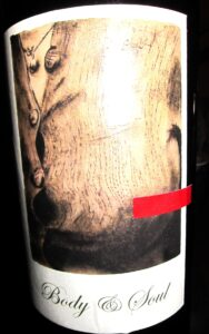 Sine Qua Non Body Soul 188x300 Sine Qua Non, Syrah, Grenache, Whites and Mr, K!