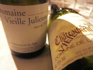 Ledbury Vieille Julienne 300x225 Chateauneuf du Pape Rhone Wines in London at The Ledbury