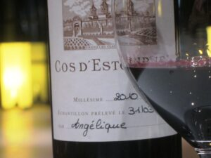 2010 april cos glass1 300x225 2010 St. Estephe Bordeaux Wine Guide Reviews Tasting Notes