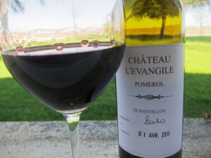 2010 levangile sample 300x225 2010 LEvangile, Lush, Fresh, High Alcohol 2010 Pomerol, Bordeaux Wine