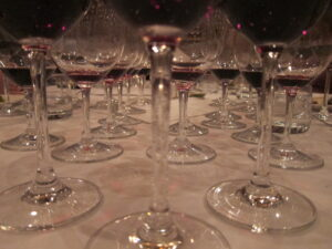 Matthesen Blind Glasses Stems 300x225 Blind Tasting Bordeaux Wine, Rhone Wine & More 7 Blind Men
