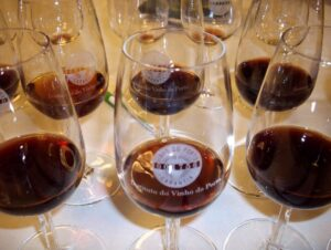 91 port glasses 300x226 1991 Vintage Port Blind Tasting with Roy Hersh