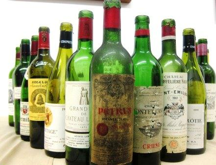7 Blind Men Taste Bordeaux Rhone California Wine 1961-2001
