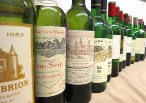 7 blind may bottles 300x212 7 Blind Men Taste Bordeaux Wine, Diamond Creek, a Spanish Surprise!