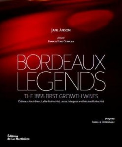"Jane Anson Interview, ""Bordeaux Legends The 1855 First Growth Wines"