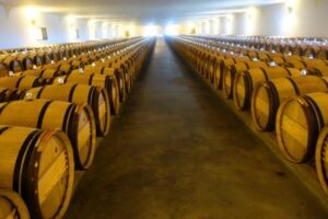Mouton Rothschild Barrel Cellars 1 300x200 Chateau Mouton Rothschild Pauillac Bordeaux Wine, Complete Guide