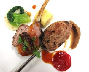 Lamb Tomato Confit 2 300x242 Dining tips from Philippe Cambie for Chateauneuf du Pape