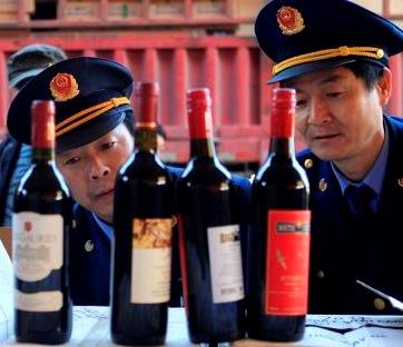 Counterfeit wine Massive Chinese Counterfeit Wine Ring Busted with 7,000 Fake Cases