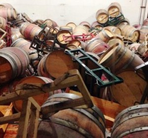 Napa Valley Earthquake Damage1 300x280 Drink Napa Wine for International Cabernet Sauvignon Day 2014