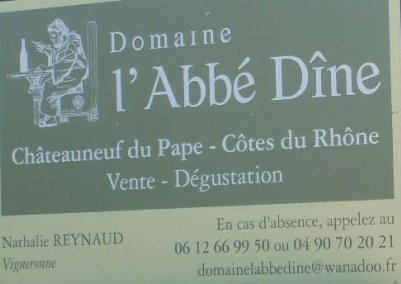 lAbbe Dine Domaine l Abbe Dine Chateauneuf du Pape Rhone Wine, Complete Guide