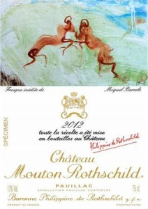 Mouton 2012 Miquel Barcelo sculptor 212x300 2012 Mouton Rothschild Label Features the Art of Miquel Barcelo