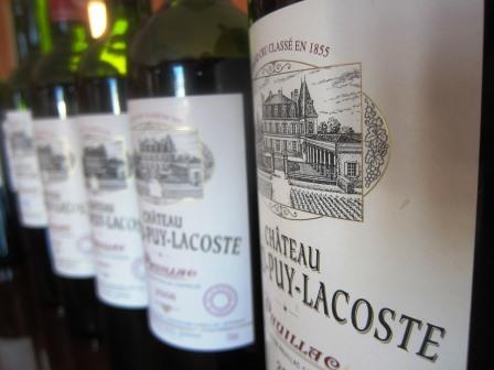 Grand Puy Lacoste bottles Wine of the Week 2000 Grand Puy Lacoste Pauillac