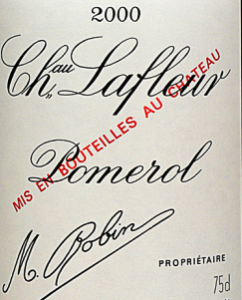 2000 Lafleur 242x300 The Top Ten Best Wines Tasted in 2016, and the Stories Behind the Wines