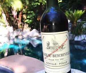 1961 Beychevelle 300x256 Wine of the Week 1961 Chateau Beychevelle Saint Julien