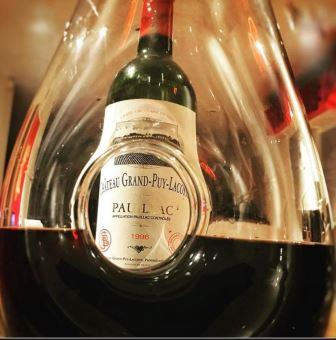 Wine of the Week 1996 Grand Puy Lacoste